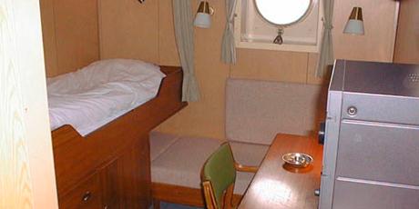 Crew Facilities On Board The Research Vessel Dana Dtu Aqua
