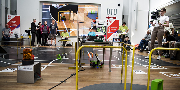 Picture from DTU RoboCup 2019 (Photo: Joachim Rode)